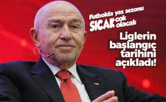 Nihat Özdemir Süper Lig'in başlangıç tarihini açıkladı! Maçlar ne zaman oynanacak?