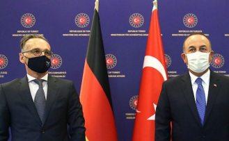 Maas ile görüşme sona erdi: Çavuşoğlu'ndan Doğu Akdeniz açıklaması