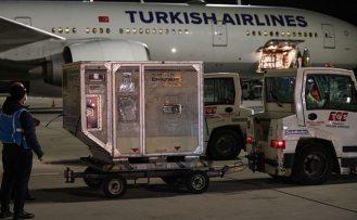 6,5 milyon dozluk Covid-19 aşısı Türkiye'ye indi