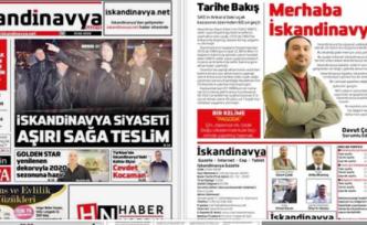 İskandinavya gazetesinin ilk sayısı çıktı