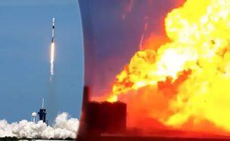 SpaceX'in prototipi infilak etti