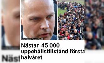 İsveç'te 6 ayda 45 bin kişi oturum ve çalışma izni verildi