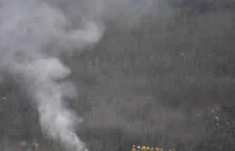Kobe Bryant'ın öldüğü helikopter kazasından ilk görüntüler