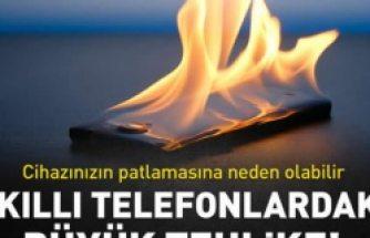 Telefonunuz aşırı ısınıyorsa dikkat!
