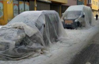 Türkiye buz tuttu: Böyle soğuk İsveç'te görülmedi