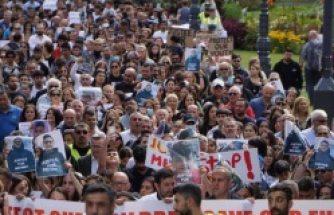 13 yaşındaki Mehmet'in uyuşturucudan ölümü protesto edildi