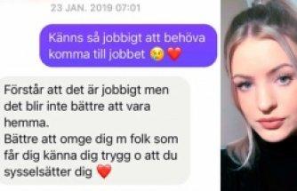 İsveç'te cinsel istismara uğrayan genç kıza iş yeri dinlenmesi için izin vermedi