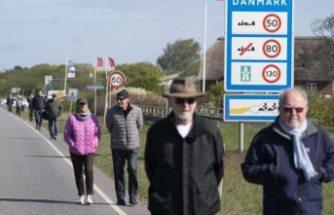 Danimarka'dan aşk mektubu, fotoğraf veya mesaj gösteren çiftlere sınırı geçme izni