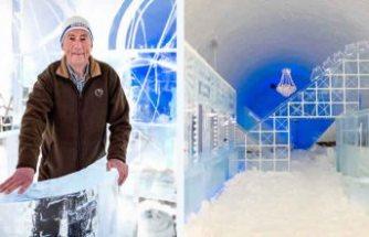 İsveç'in buz oteli 30 yıldan sonra ilk kez erken kapandı
