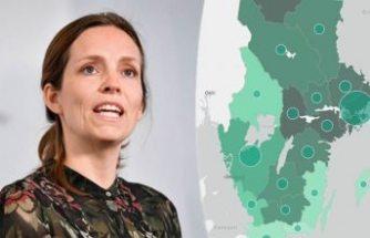 İsveç'te vaka sayısındaki artış devam ederken, can kayıpları 4 bin 266'ya ulaştı