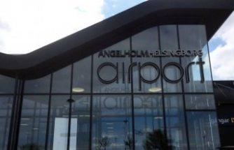 Ängelholm havalimanı ikinci bir duyuruya kadar kapatıldı