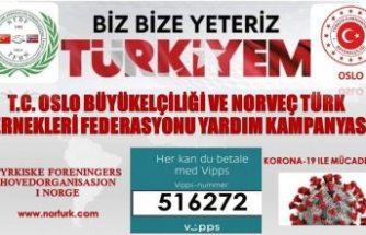 Norveçli Türklerden Bize Bize Yeteriz Türkiyem kampanyasına yoğun ilgi