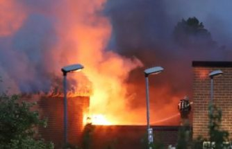 Bredäng'deki bir okul ikinci kez kundaklandı
