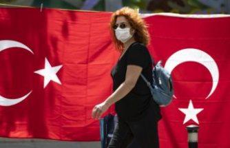 Türkiye'de son 24 saatte 1248 kişiye Covid-19 tanısı konuldu