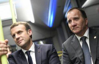 Başbakan Stefan Löfven, Emmanuel Macron ile görüşecek