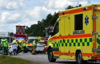 E20'de zincirleme trafik kazası