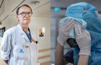 İsveç'te 10.000'den fazla sağlık çalışanının covid-19'a yakalandığı açıklandı