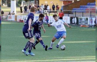 İsveç'te dikkat çeken gurbetçi futbolcu