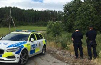 Nynäshamn'da yanmış ceset bulundu