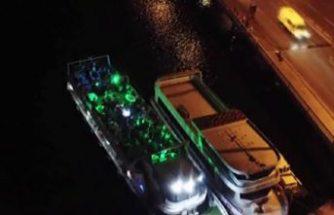 Skandal tekne partisine polis ceza yağdırdı