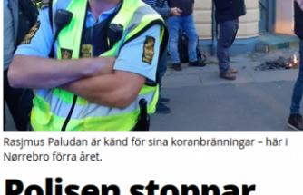 İsveç'te cami önünde Kur'an-ı Kerim yakmak isteyen aşırı sağcı politikacıya izin verilmedi