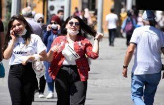 Konya'da vaka sayısı artışına rağmen maske takmayanlar tepki çekti