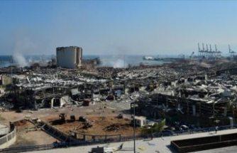Türkiye'den patlamayla sarsılan Lübnan'a yardım açıklaması