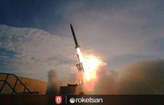 Türkiye'nin uzay sınırını geçen ilk roketi