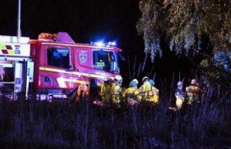 Akşam meydana gelen feci kazada yaralanan 3 kişi hayatını kaybetti
