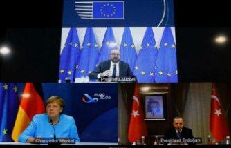 Erdoğan, Merkel, Michel zirvesi sona erdi: 'Türkiye ve Yunanistan istikşafi görüşmelere hazır'