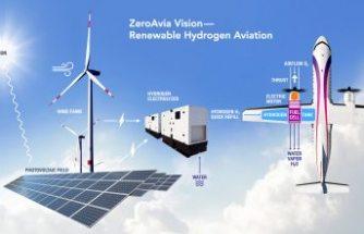 Hidrojenle çalışan ilk yolcu uçağı test edildi