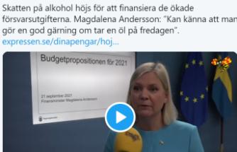 İsveç'te alkol ve tütüne ağır vergi