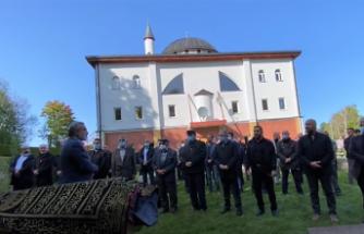 İsveç'te vefat eden Cemal Balcı'nın cenaze namazı kılındı