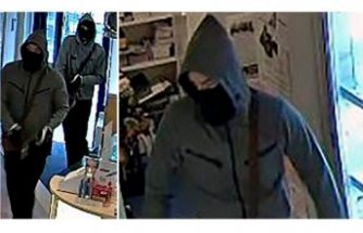 Polis silahlı soyguncuların resmini yayınlayarak yardım istedi
