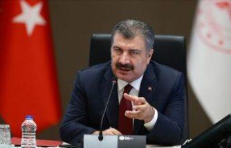 Sağlık Bakanı: Bugün virüsün saldırısı karşısında baştakinden daha zor bir dönemdeyiz