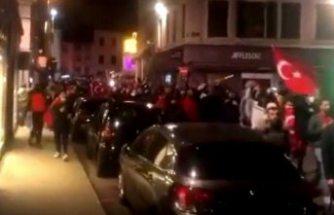 Fransa'da Ermeni saldırısı: 4 Türk'ün yaralanması sonrası Türkler sokağa indi