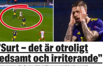 İsveç Uluslar Ligi'nde kayıp