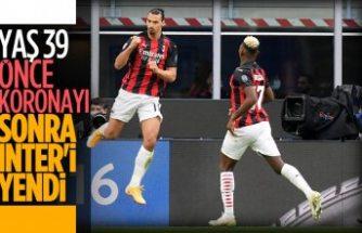 Milan, Inter'i Ibrahimovic'in golleriyle yıktı