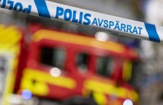 Stockholm'deki tarihi tiyatroda yangın çıktı