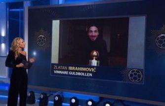 Ibrahimovic 12. kez 'yılın futbolcusu' seçildi