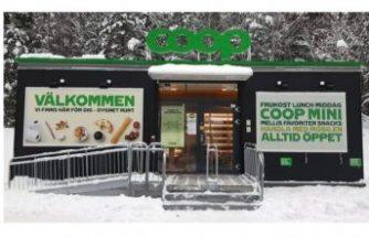 Coop, ilk insansız marketini test ediyor