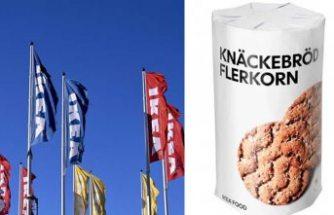 IKEA zehirli gaz şüphesiyle, gevrek ekmek satışını durdurdu