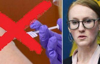 İsveç'teki beş bölgede aşı krizi