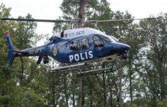 Polis Stockholm'de tatbikat yapıyor