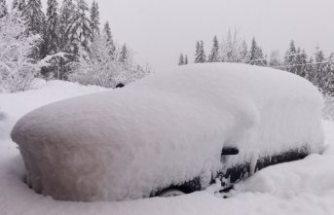 SMHI'den 50-60 santimetre kar uyarısı