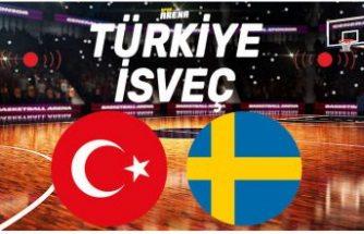 Türkiye - İsveç bu akşam karşı karşıya geliyor