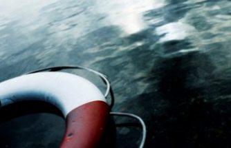 Frihamnen'deki suda  bir kişinin cansız bedeni bulundu