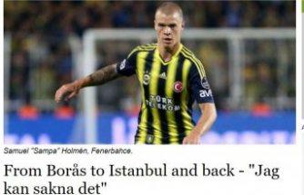 İsveçli futbolcu Holmen:  Ezan sesini özledim