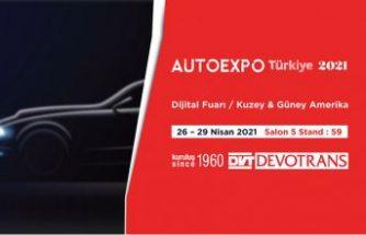 Türkiye'nin test cihazlarını üreten DVT DEVOTRANS, AUTO EXPRO TÜRKİYE 2021 dijital fuarında