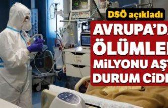Avrupa'da Covid-19'dan ölenlerin sayısı 1 milyonu aştı